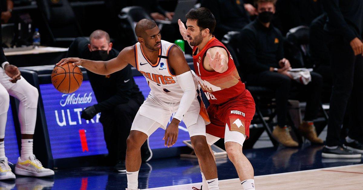 Pese al estupendo aporte de Campazzo, los Suns barrieron a los Nuggets: la polémica expulsión del MVP de la NBA, Nikola Jokic - Infobae