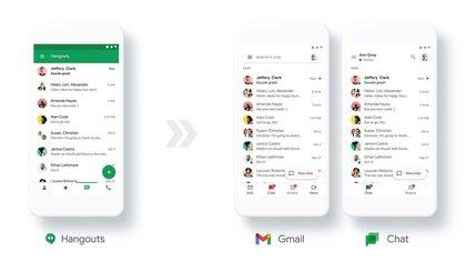 Google Chat será el sustituto de Hangouts ¡y gratis para todos!