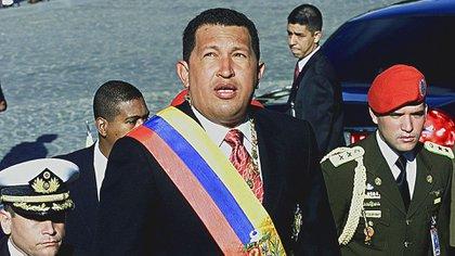 El presidente venezolano, Hugo Chávez, fallecido en 2013 (AFP)