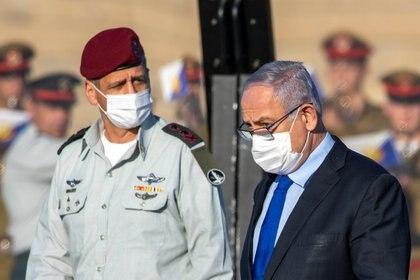 El primer ministro de Israel Benjamin Netanyahu Ariel Schalit/Pool via REUTERS