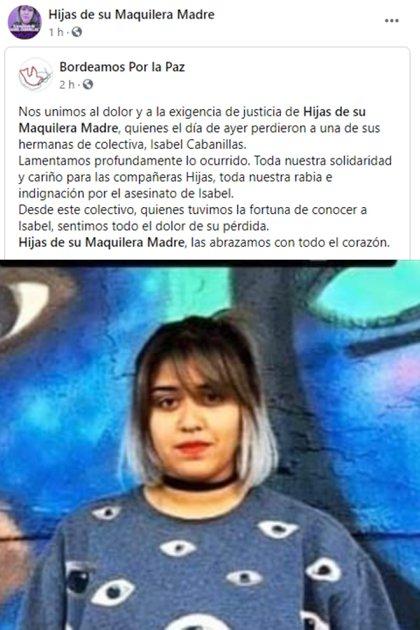 (Foto: Facebook Hijas de su Maquilera Madre)