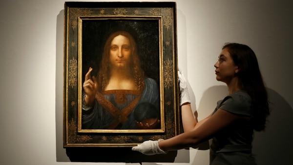 Resultado de imagen de 'Salvator Mundi', de Leonardo da Vinci,