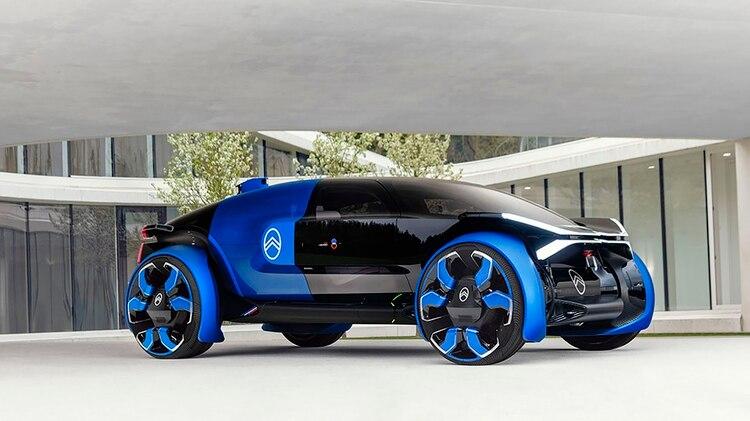 Concept 19_19: se trata del prototipo que ha creado Citroën para celebrar su centenario. Con un diseño impactante, tremendamente futurista, es la mirada de la marca sobre cómo serán los vehículos dentro de un par de décadas. Es autónomo, eléctrico y ofrece una autonomía de hasta 800 kilómetros. @ Jérome LEJEUNE @ Continental Productions