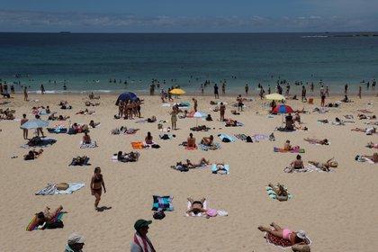 Coogee Beach en Sídney, Australia, 13 de enero 2021. REUTERS/Loren Elliott