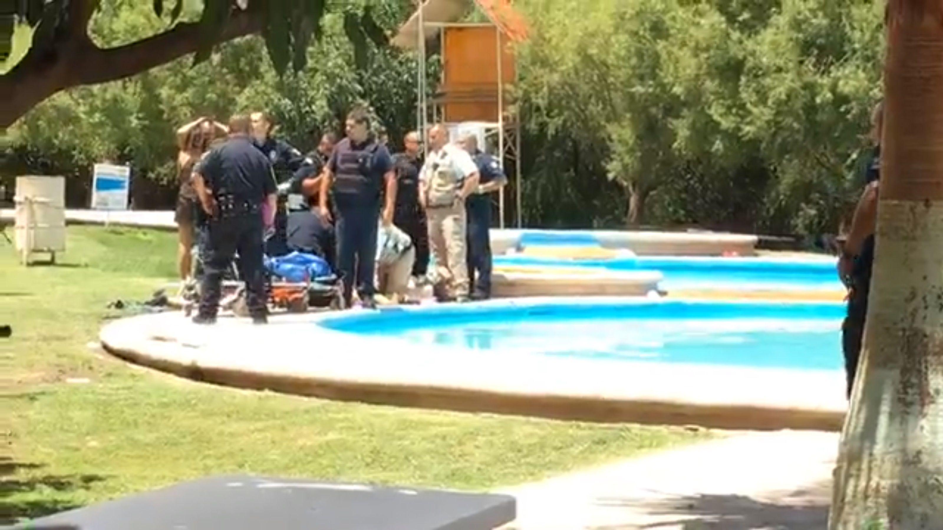 Un niño de cuatro años falleció en un balneario en Chihuahua (Foto: captura de pantalla El Pueblo)