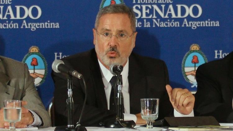 Marcelo Saín, ministro de Seguridad de Santa Fe. (NA)