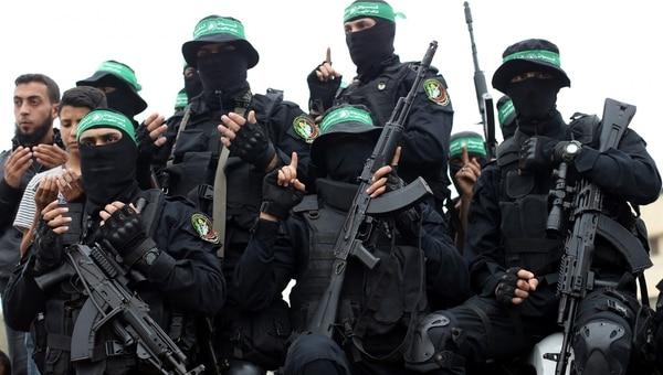 Militantes de Hamas en Gaza (Reuters)