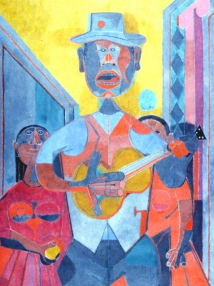 Trovador, 1945 (Foto: Museotamayo.org)