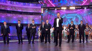 Marcelo Tinelli regresó a la televisión con un mega show que contó con más de 200 figuras presentes en el estudio