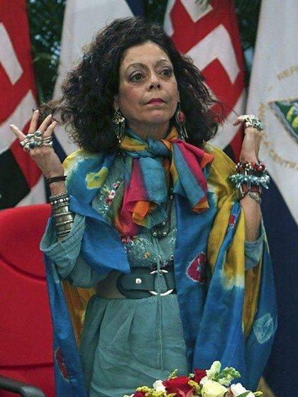 Rosario Murillo, la vicepresidenta de Nicaragua