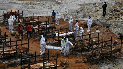 India es el actual epicentro de la pandemia de coronavirus (Reuters)