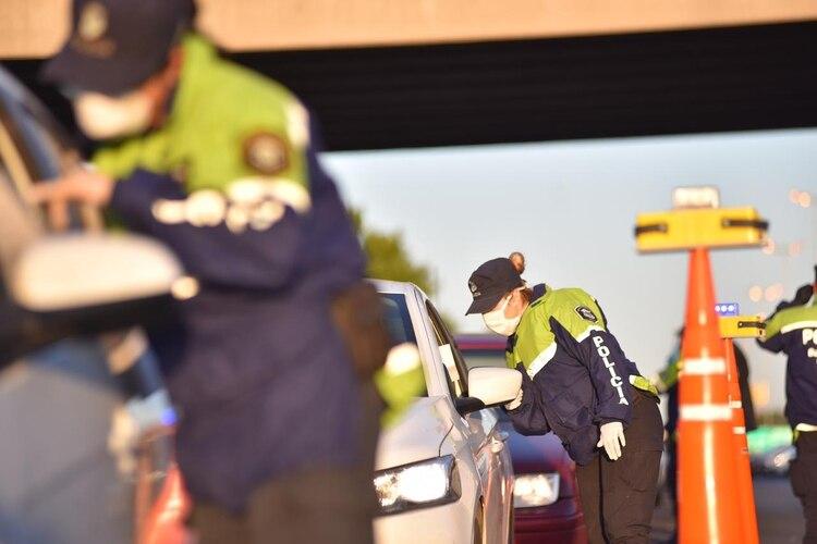 En Panamericana se secuestraron más de 20 autos