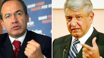 El ex mandatario se disculpó en Twitter por un mal entendido en el que se señaló a AMLO de convivir con el hermano mayor de El Chapo Guzmán (Foto: Archivo)