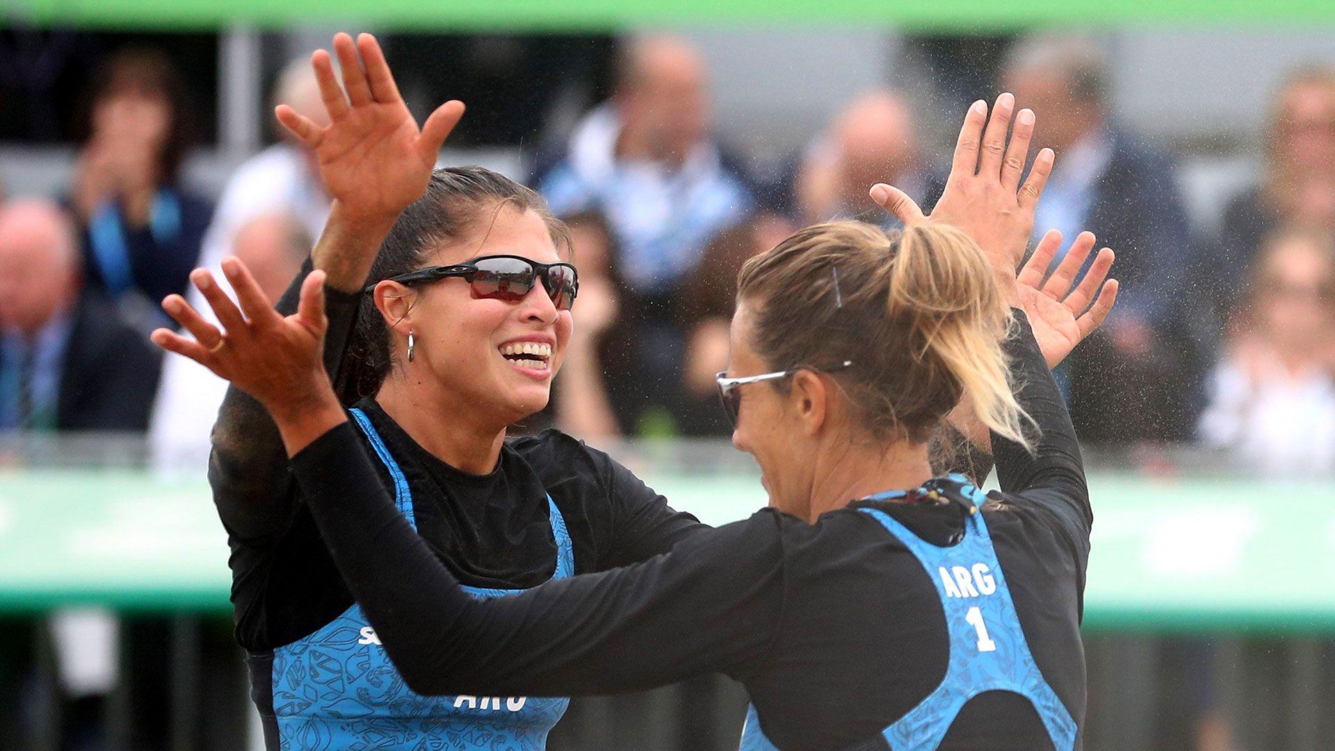 Pereyra y Gallay redondearon una gran participación en Lima 2019 (Foto: Reuters)