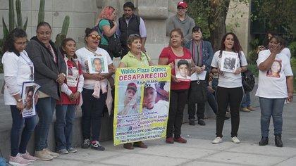 El colectivo manifestó la falta de apoyo por parte del gobierno de Andrés Manuel López Obrador (Foto: Steve Allen/ Infobae)