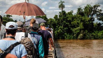 Su paisaje único, conformado por el Río Iguazú y la selva misionera, es el principal atractivo del Parque Nacional Iguazú (Shutterstock)