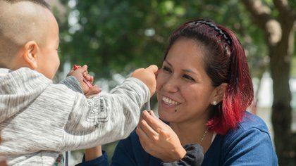 Vanessa Gómez Cueva tiene 33 años y fue expulsada en febrero de 2019 (Amnistía Internacional Perú)