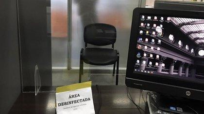 La Oficina de Violencia Doméstica (OVD) de la Corte Suprema de Justicia de la Nación permanece abierta y desinfectada para que se pueda denunciar a pesar de la cuarentena.