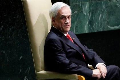 """El Chino Ríos expresó que a Piñera le """"falta mano dura"""" en Chile  REUTERS/Carlo Allegri."""