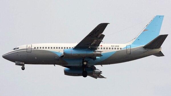 Imagen de hace 9 años del avión que se estrelló en Cuba, perteneciente a la compañía mexicana Damojh