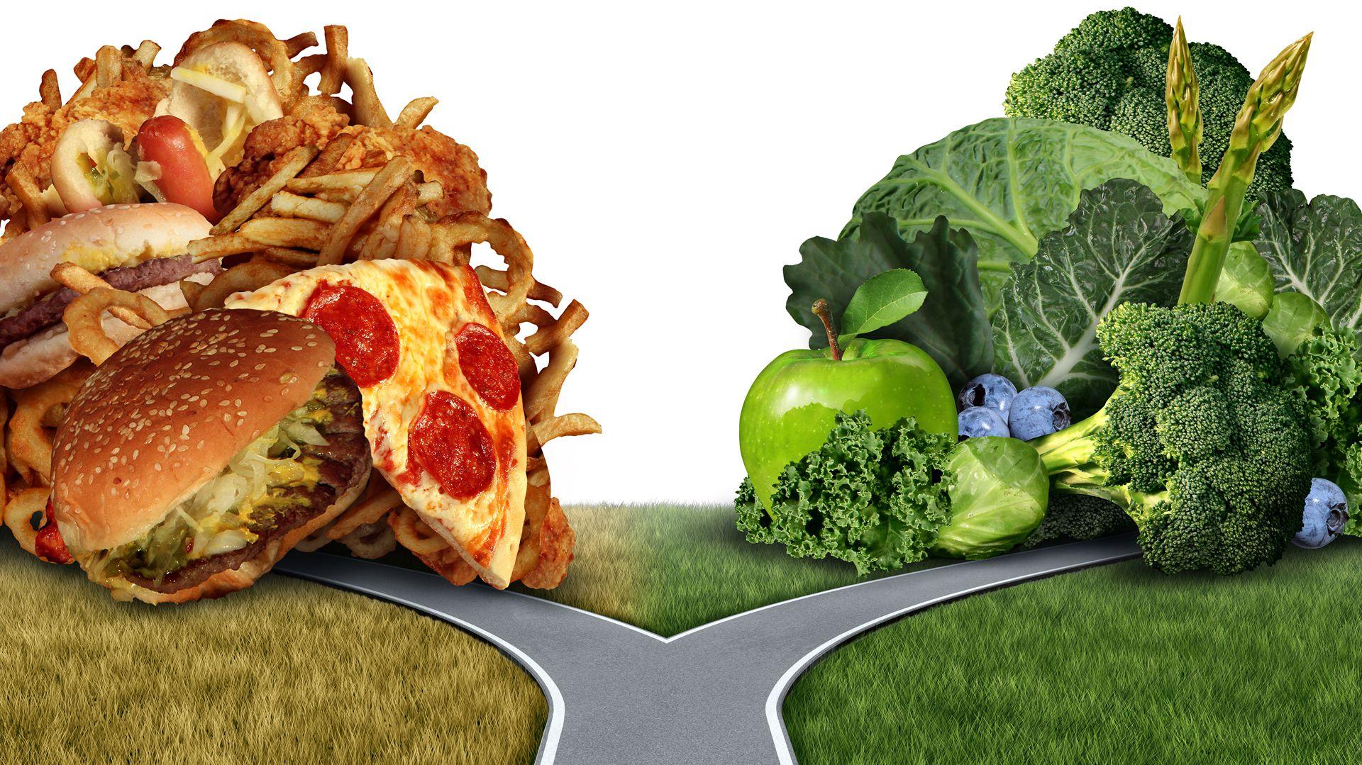 Siempre hay dos caminos alimentarios para recorrer