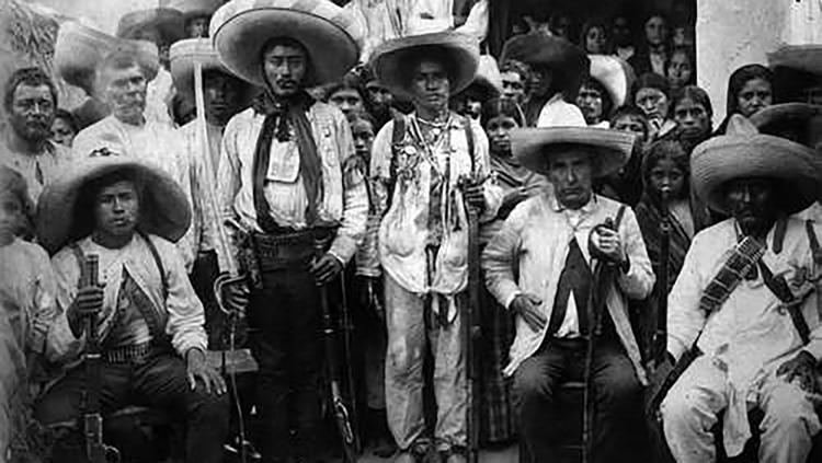 Hasta 1918 formó parte del ejército de Zapata, donde obtuvo el grado de coronela.