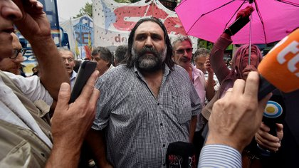 Roberto Baradel, secretario general de SUTEBA