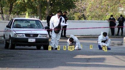 Los estados con el mayor número de homicidios dolosos reportados en abril del 2021 fueron Guanajuato, con 310 casos, Michoacán, con 244, Estado de México, con 192, Jalisco, con 189, y Baja California, con 157 (Foto: Cuartoscuro)