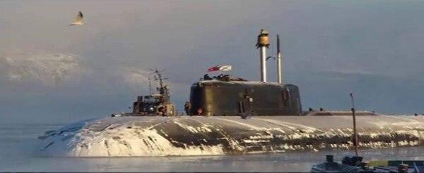 El Kurks soviético se hundió el 12 de agosto del 2000 en el Mar de Barents