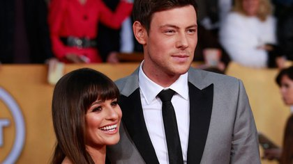 Cory Monteith y Lea Michele (Reuters)