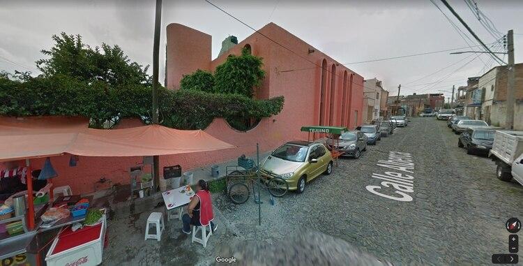 Templo en el que se refugió el presunto ladrón (Foto: Google Maps)