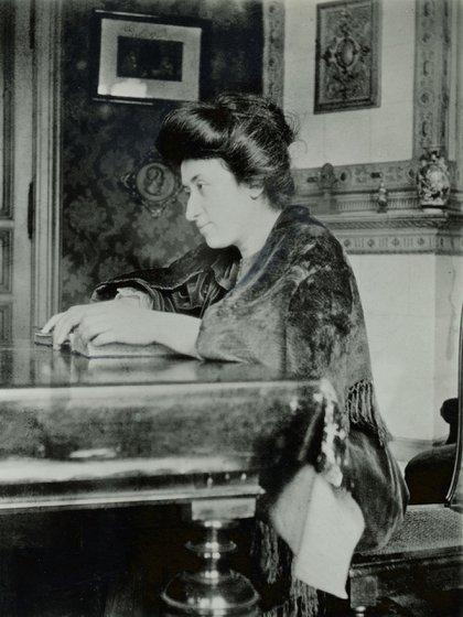 Rosa Luxemburgo en Berlín, año 1907