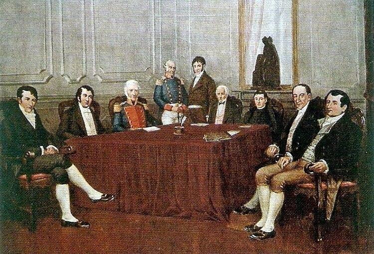 La Primera Junta de Gobierno a pleno.