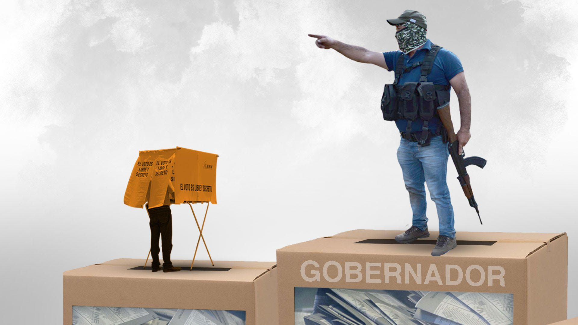 Elecciones México violencia (Fotoarte: Jovanni Pérez Silva/ Infobae México)