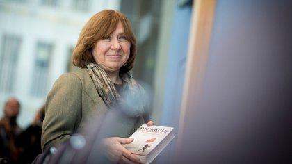 Svetlana Alexievich, ganadora del Nobel de Literatura (Getty)