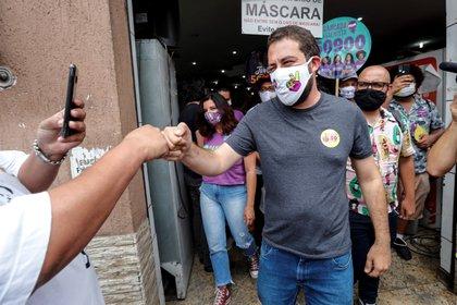 Guilherme Boulos, candidato a la Alcaldía de San Pablo por el Partido Socialismo y Libertad (EFE)