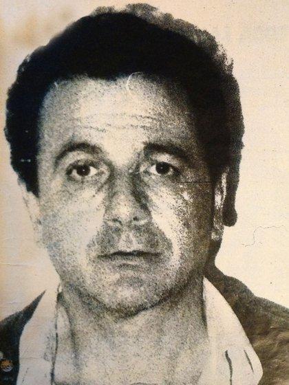 Ahmed, foto policial, 1991. (Revista Gente)