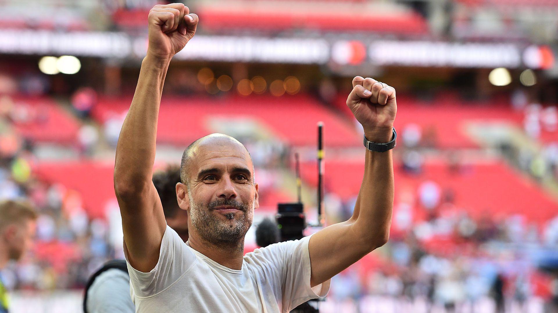 La Vecchia Signora prepara una oferta para el actual entrenador del Manchester City, Pep Guardiola.  Manchester City won the game  (Glyn KIRK)