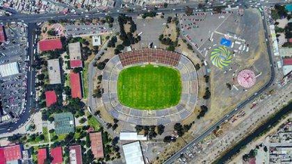 La organización Neza Fútbol Club buscará remodelar el Estadio Neza 86 en cojunto con el gobierno municipal  (Foto: Twitter@MXESTADIOS)