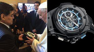 La obsesión de Maradona por los relojes: su último lujo preferido, el día que hizo temblar a la FIFA y los problemas que le ocasionaron los regalos