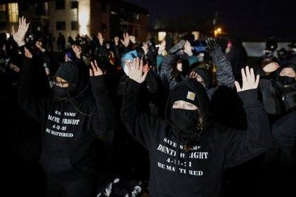 Protestas en Minnesota. REUTERS/Nick Pfosi