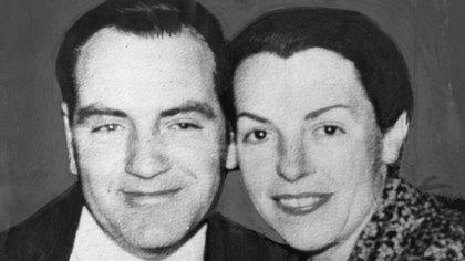 Jim Beaumont y su esposa Nancy.