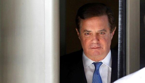 Paul Manafort, ex jefe de campaña de Donald Trump (REUTERS/Yuri Gripas)