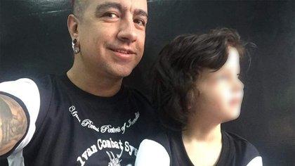 Erick no tiene miedo a morir porque sabe que su hija estará cuidada por su familia (Foto: Cortesía)