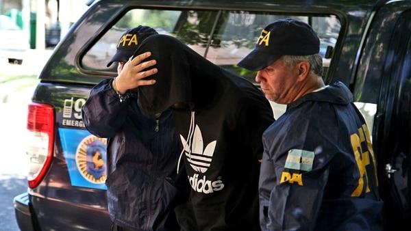 Gastón Campillo, detenido hoy