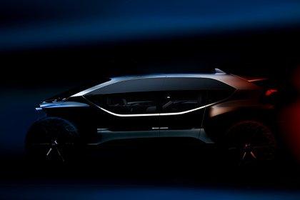 El Audi AI:TRAIL quattro es un prototipo de vehículo totalmente eléctrico que tendrá prestaciones off road. Audi ya adelantó que estará en Frankfurt como estandarte de lo que la marca pretende para la movilidad del futuro, acompañado de los últimos prototipos que ha desarrollado, como el AICON o el Al:me.