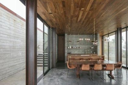 El edificio también cuenta con un techo de pasto y materiales sostenibles como acero, concreto y vidrio (Créditos: Erin Feinblatt)