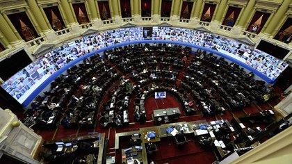 Cámara de Diputados (foto NA)