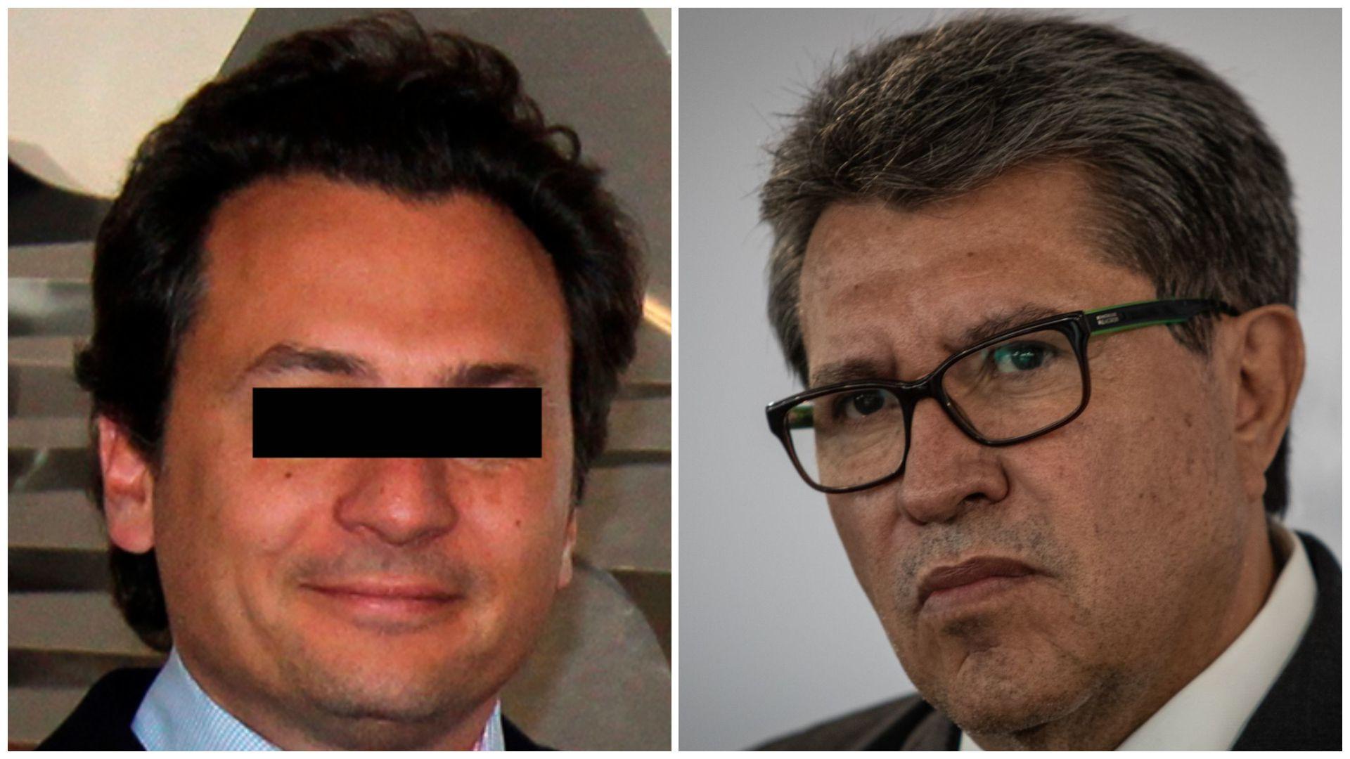 Lozoya y Ricardo Monreal (Foto: EFE/Cuartoscuro)