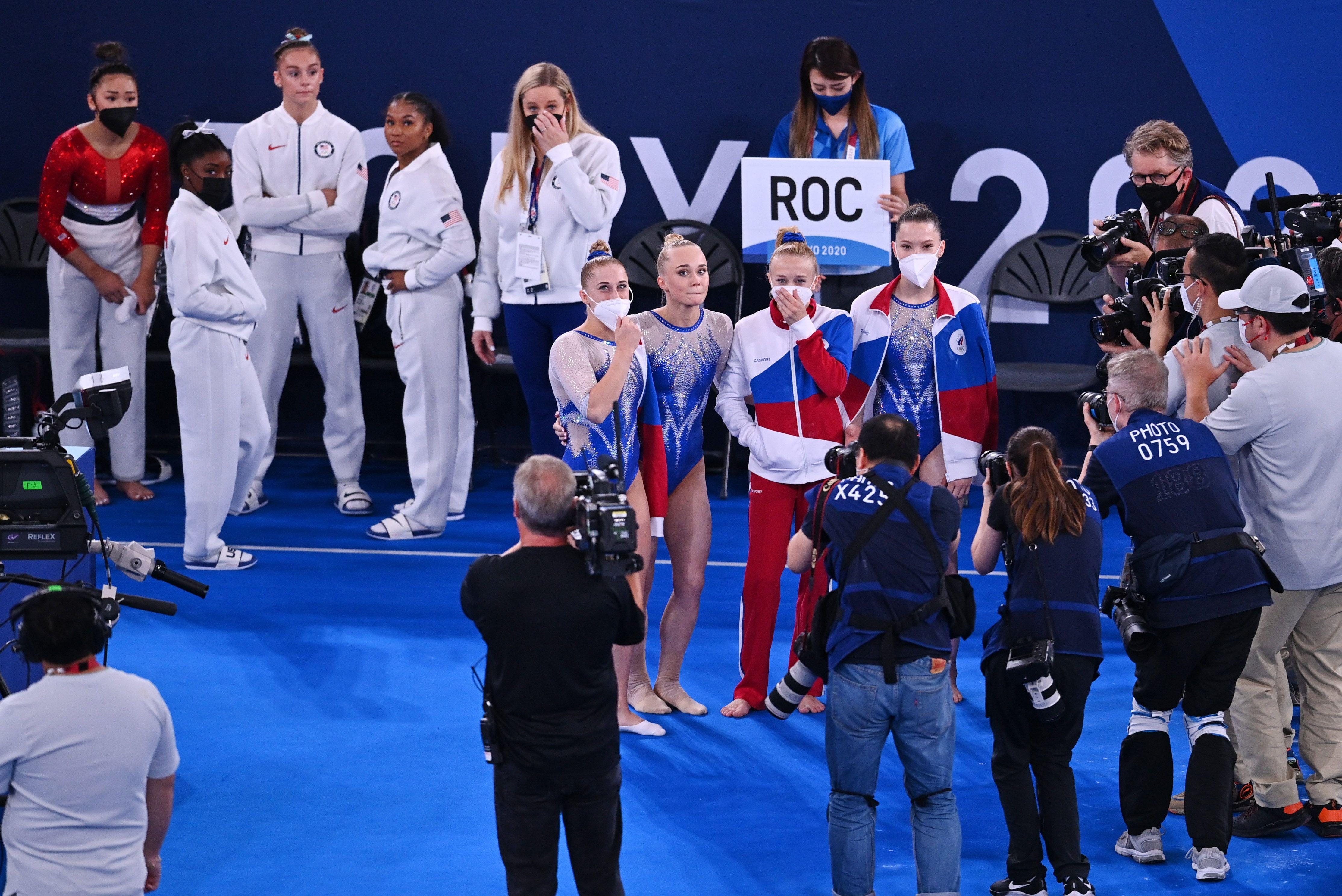 El equipo femenino ruso superó a Estados Unidos (REUTERS/Dylan Martinez)